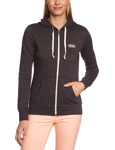 vans damen hoodie g link zip up black heather m vswabhh kumalariotana. Black Bedroom Furniture Sets. Home Design Ideas