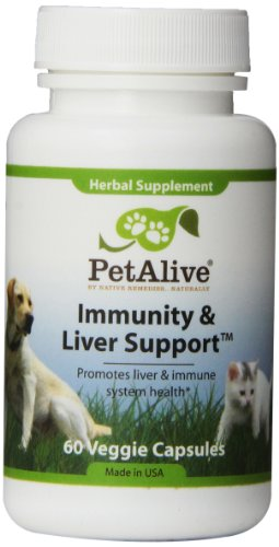 Native Remedies PIML001 PetAlive Immunity and Liver Support for Immune Functioning - 60 VegeCaps
