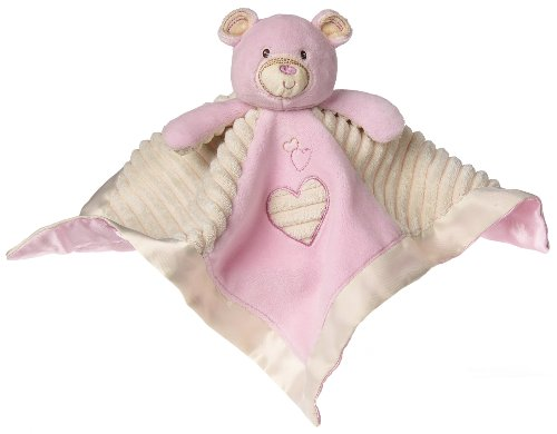 Mary Meyer Thready Teddy Character Blanket, Pink