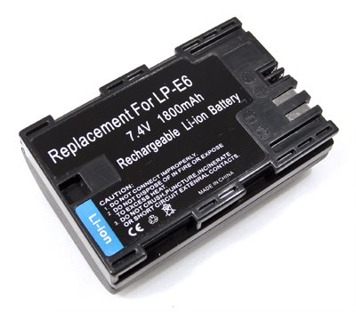 Battery for Canon LP-E6 LPE6 EOS 7D 60D 5D Mark II (Canon 60d Battery Pack compare prices)