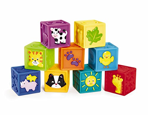 Earlyears-Squeak-n-Stack-Blocks-Baby-Toy