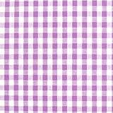 ギンガムチェック 生地 チェック 生地 ブロード 生地 (色 紫) (チェックの大きさ:小・約3mm角) (50cmから注文可) (価格は10cmの価格)