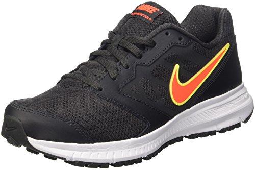 Nike Downshifter 6 Scarpe da Ginnastica, Uomo, Nero (Anthracite/Total Crimson/White/Volt), 42