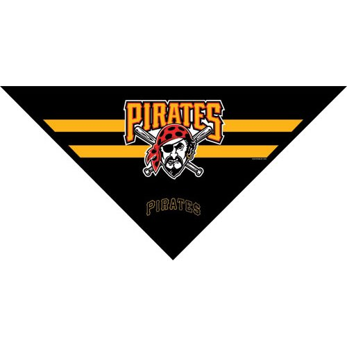 Hunter MFG Pittsburgh Pirates Mesh Dog Bandana, Small
