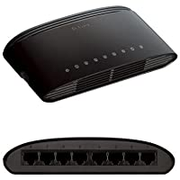 D-Link DES-1008E 200Mbps Desktop Switch