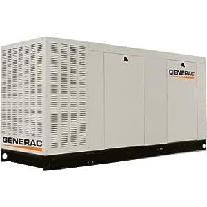 - Generac Commercial Series Liquid-Cooled Standby Generator - 150 kW, 277/480 Volts, LP, Model# QT15068KVAC