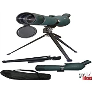 High Powered Zoom Spotting Scope (748) - Free Tripod