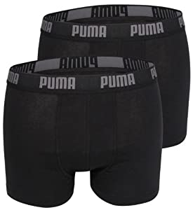 Puma Basic - Bóxer, color negro, talla S