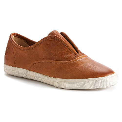 Women's Frye 'Mindy' Slip-On Leather Sneaker, Size 9 M - Bro