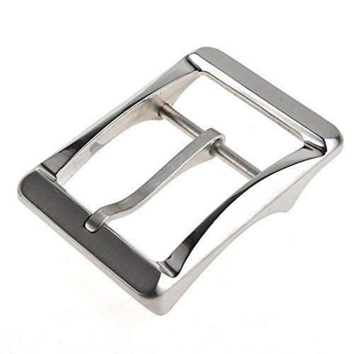 RockBros Titanium Ti Belt Buckle Belt Fastener Brushed Finish Nickel Free