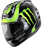 41wwvxheZsL. SL160  Arai Corsair V Crutchlow Full Face Motorcycle Riding Race Helmet