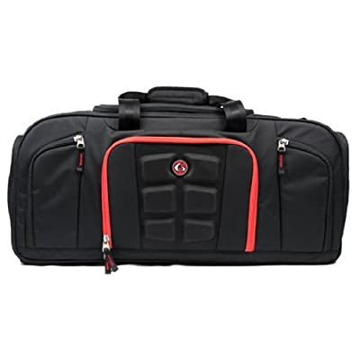 6 Pack Fitness Beast Duffle Bag with Insulated Meal Management System
