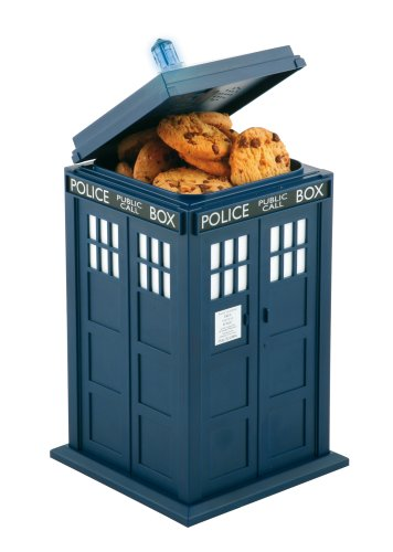 Doctor Who Tardis Jar