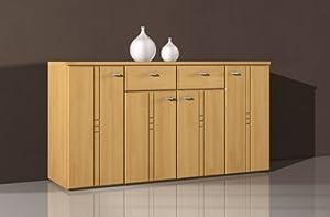 sideboard kommode buche dekor mdf fronten k che haushalt. Black Bedroom Furniture Sets. Home Design Ideas