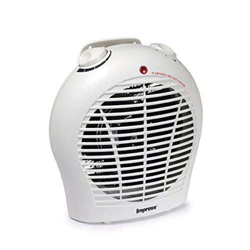 Influence 1500 Watt 2 Speed Fan Heater with Adjustable Thermostat