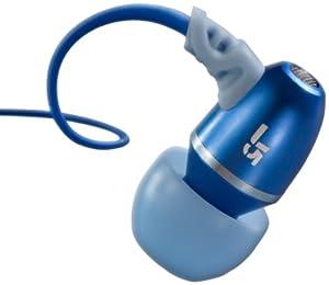 JLab JBuds J5 Metal Earbuds Style Headphones (Blue Steel)