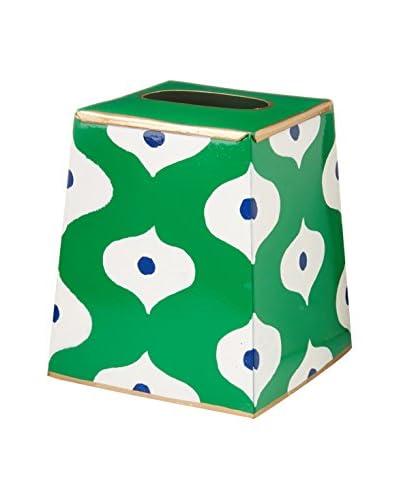Jayes Sloane Tissue Box Cover, Green