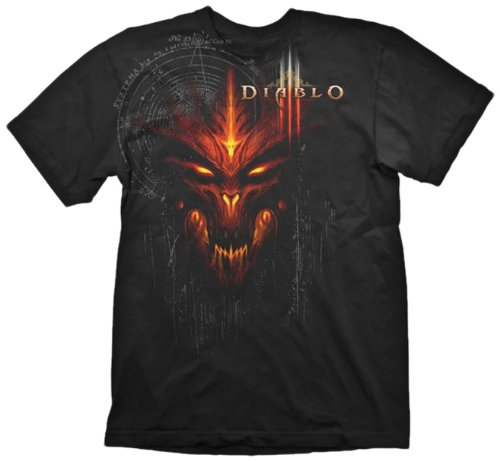 gadget geek - shirt diablo iii edition speciale taille