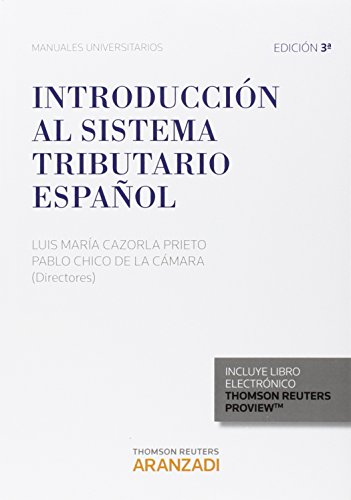 Introducción al sistema tributario español (Papel + e-book) (Manuales)