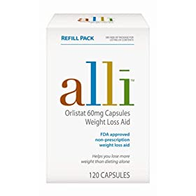 Alli Weight-Loss 60mg Capsules