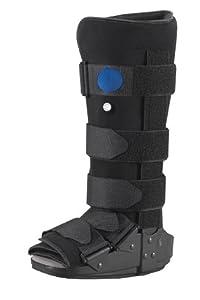 Bilt-Rite Mastex Health Pneumatic High Profile Walker, Black, Medium