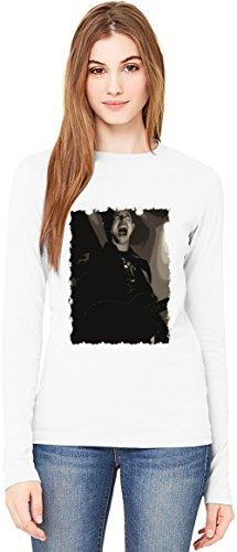 Trivium T-Shirt da Donna a Maniche Lunghe Long-Sleeve T-shirt For Women| 100% Premium Cotton Ultimate Comfort Small