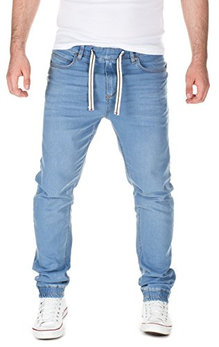Yazubi Uomo Jeans in Jogg-Look Ash , light blue (30032), W32/L34
