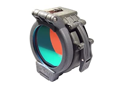 "Flip Up Red Filter for SureFire Flashlights with 1.25"" Diameter Bezels from SureFire"