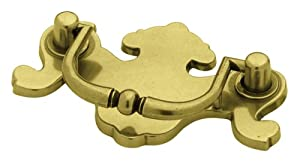 Brainerd P67602V-LAN-C7 2-1/2-Inch Traditional Bail Cabinet Hardware Handle Pull