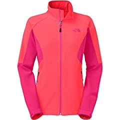 The North Face Womens Shellrock Jacket Rambutan Pink/Cerise Pink Womens (S, Rambutan Pink/Cerise Pink)