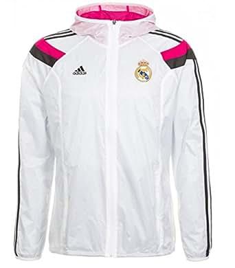Men's adidas Soccer Apparel Real Madrid Anthem Home Jacket at Amazon