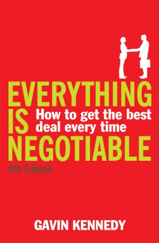 Gavin Kennedy - Everything is Negotiable