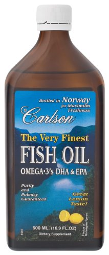 Best price for carlson the very finest fish oil liquid for Carlson fish oil amazon
