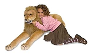 Melissa & Doug Huggable Plush Stuffed Lion