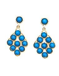 Rhea Blue Stone Chandelier Earrings (7301059)