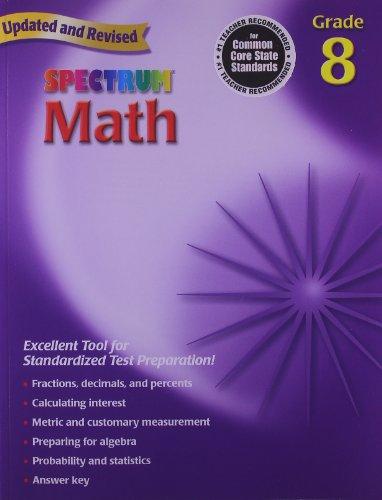 Spectrum Math 8
