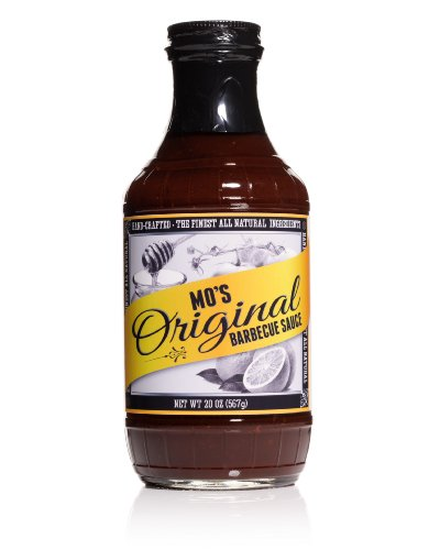Mo'S Original Barbecue Sauce, Handcrafted, All Natural, Gluten-Free, No Hfcs