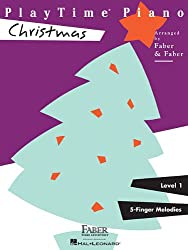 Playtime Piano Christmas: Level 1 : 5-Finger Melodies