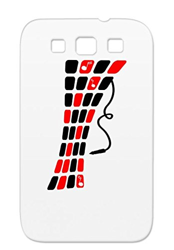 Music Road Spring Techno Minimal Love Street Floor Style Notes Dance Electronica Cable Musik Plastikman Dj Freak Music Design Turntable Road Headphone Summer Dance Cool Beach Elektro Club Red Shatterproof Protective Hard Case For Sumsang Galaxy S3