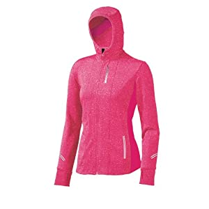 Brooks Women's Utopia Thermal Hoodie II, Color: Pomegranate, Size: M