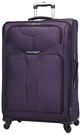 Skyway Sigma 4 29-Inch 4 Wheel Expandable Upright, Dark Purple, One Size
