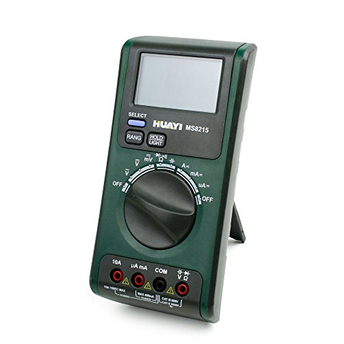 Lerway Digital Ac/Dc Voltage Measurement, Resistance Measurement, Diode Test, Continuity Check, Capacitance Ac/Dc Current Measurement Test Meter Multimeter Ms8215