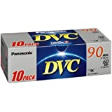 Panasonic DVC Tape 60 minute 10 Pack