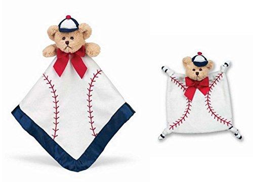 Little Slugger Baseball Wee Blanket and Snuggler Lovey Blanket Set - 1