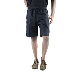 0-Degree Mens Cotton Short (Shortblack32 _Black _32)