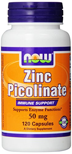 NOW Foods Zinc Picolinate, 120 Capsules / 50mg