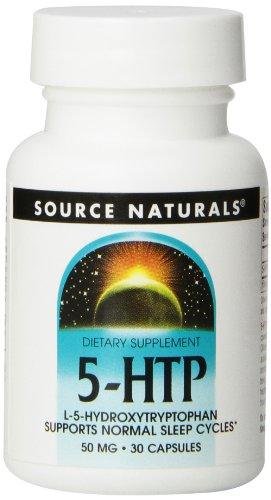 Source Naturals 5-Htp, 50Mg, 30 Capsules