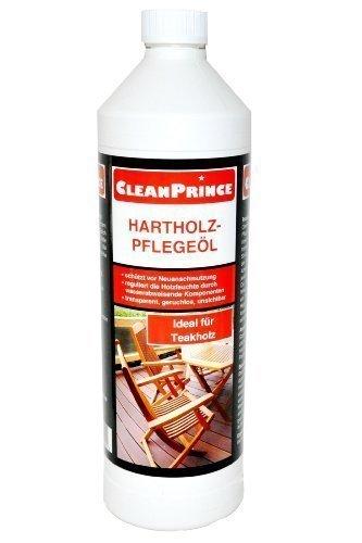 CleanPrince-Hartholz-Pflegel-1000-ml-Holz-Teakholz-Bankirai-Hartholzl-Holzl-Mbell-Mbelpflege-len-Holz-Tisch-Holztisch-Reiniger-Wasserflecken-entfernen-imprgnieren-Holzkisten-Holzprodukte-Holzmbel-beha