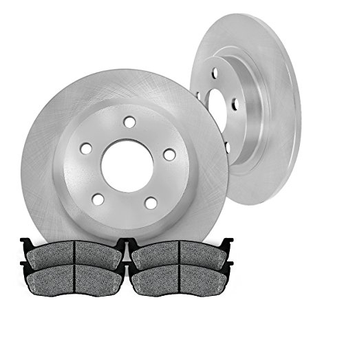 REAR Premium Grade OE Solid 320 mm [2] Rotors + [4] Metallic Brake Pads Kit CM1P40179B (Dodge Challenger Rt Rotors compare prices)