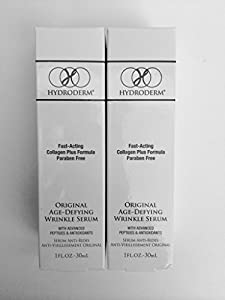 2 Hydroderm Fast Acting Wrinkle Reducer Bottles!!! (30 mL)